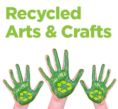 Recycled Arts And Crafts