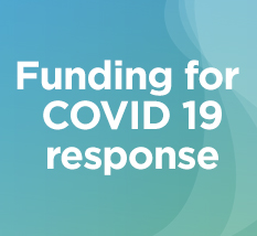 Funding for COVID 19 response